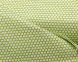 zöld pöttyös