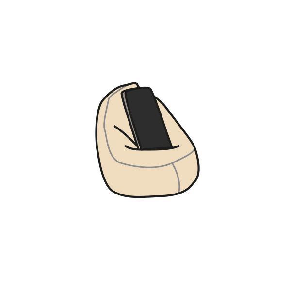 Mobiltartó párna